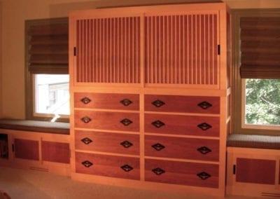 Tansu bedroom suite