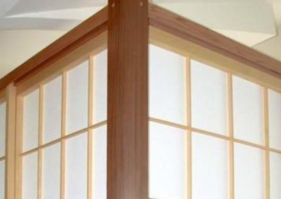 Shoji for Stairwell