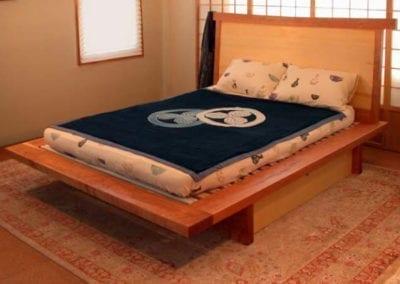 Custom variations on the platform bed design